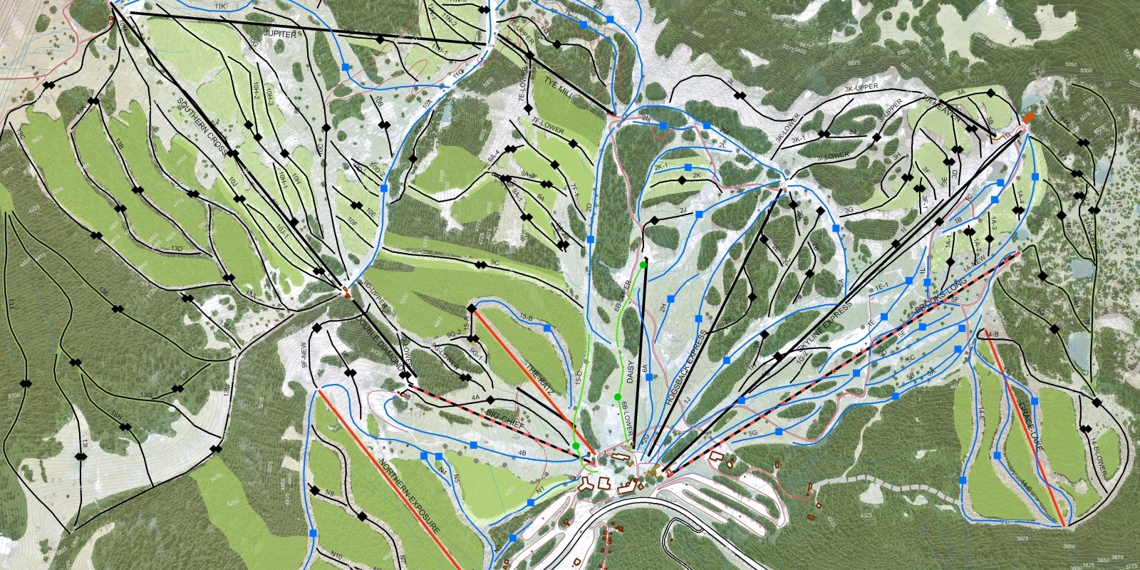 Mountain Master Plan – by Skier categ(HIGH RES)