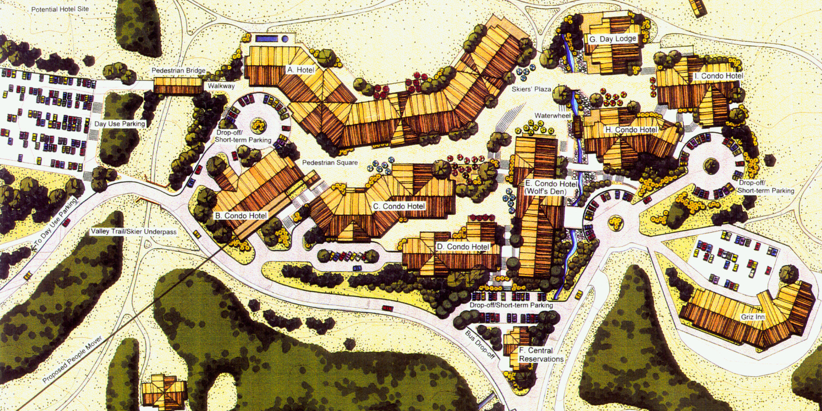 Village Core Plan – Summer