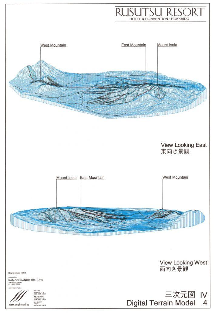 Original 3D Digital Terrain Model